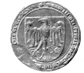 Siemowit IV, Duke of Masovia - Seal of Siemowit IV