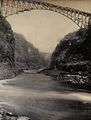 Zimbabwe; a bridge from the river beneath. Photograph by Sir Wellcome V0038014.jpg