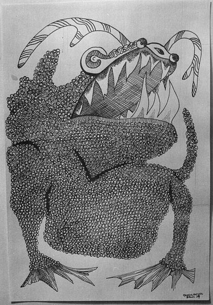 "File:""Frog, Ibo Legendary Figure"", 1959 - NARA - 558960.jpg"