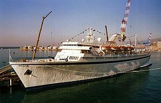 MV Astoria - As Italia Prima In Genova, Italy, in 1994