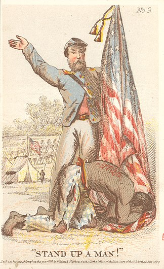 """Stand up a Man!"", ca. 1863 (5574028743).jpg"
