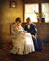 """The Firstborn"" (1900), by George Van Horn Millet.jpg"