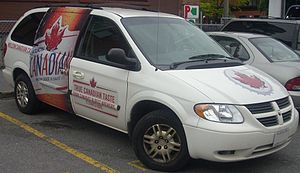 Molson Canadian - A Molson Canadian Dodge Grand Caravan model.