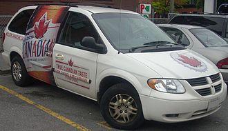 Molson Canadian - A Molson Canadian Dodge Grand Caravan model.