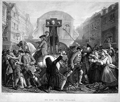 'Defoe in the Pillory' Wellcome L0002774