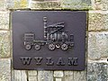 'Puffing Billy' - Welcome to Wylam road sign - geograph.org.uk - 1123205.jpg