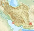 ' 13 - Italian graphic work - IRAN earthquake 2013 (9 aprile - 16 aprile) map.jpg