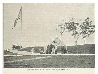 Grant's Tomb - Temporary tomb in Riverside Park, 1893