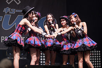 Cute (Japanese idol group) - °C-ute at Japan Expo 2014