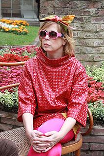 Ágatha Ruiz de la Prada Spanish fashion designer and Grandee
