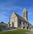 Église Saint-Romain d'Étréham. Vue sud-ouest.jpg