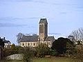 Église Saint-Romain d'Étréham. Vue sud.jpg
