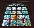 Église Sainte-Marguerite de Lormaison vitrail st marguerite int.JPG