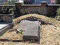 Łódź-grave of Theodor Gotthelf Puppe, plaque of Adam Fischer family.jpg
