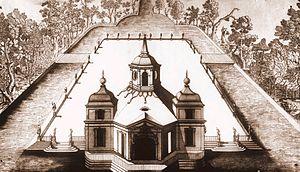 Łazienki Palace - Lubomirski's bathing pavilion
