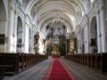 Żelechów - parish church inside.jpg