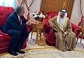 Υποδοχή ΥΠΕΞ Γ. Κατρούγκαλου από τον Βασιλιά του Μπαχρέιν, Hamad bin Isa al Khalifa, στη Μανάμα (48054446408).jpg