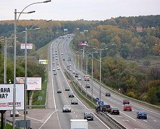 Roads in Ukraine - Image: Автодорога Київ — Одеса, с. Віта Поштова 003