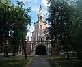 Донской монастырь Надвратная церковь Тихвинской иконы Божией Матери северные ворота.jpg