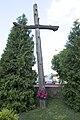 Драўляны крыж ля касьцёлу Яна Хрысьціцеля (Васілішкі).jpg