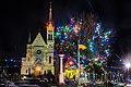 Костел Воздвиження Святого Хреста (Фастів) на Різдво 04.jpg