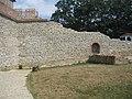 Късноантична крепост, крепостни стени.jpg