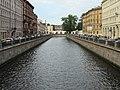Набережная канала Грибоедова от д.32. В сторону Мучного моста. Питер. Июль 2012 - panoramio.jpg