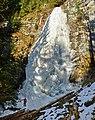 Найвища бурулька Українських Карпат - Ялинський водоспад.jpg