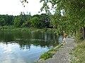 Плотина на верхнем пруду (Higher pond damb) - panoramio.jpg