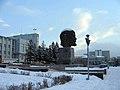 Площадь советов и голова Ленина - panoramio.jpg