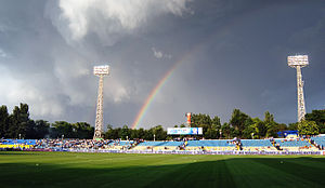 Chornomorets Stadium - Image: Стадион ЧМП до реконструкции