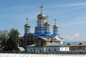 Tsivilsk - Tsivilsk The Virgin of Tikhvin Monastery Cathedral of Our Lady of Tikhvin, 2011