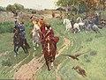 Ф.Рубо.Охота башкир с соколами в присутствии императора Александра II.jpg