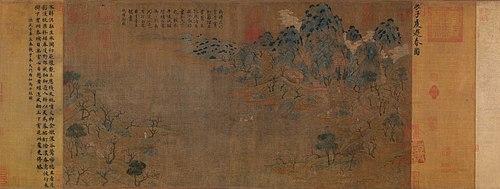 Чжань Цзыцянь. Весенняя прогулка.Гугун, Пекин..jpg