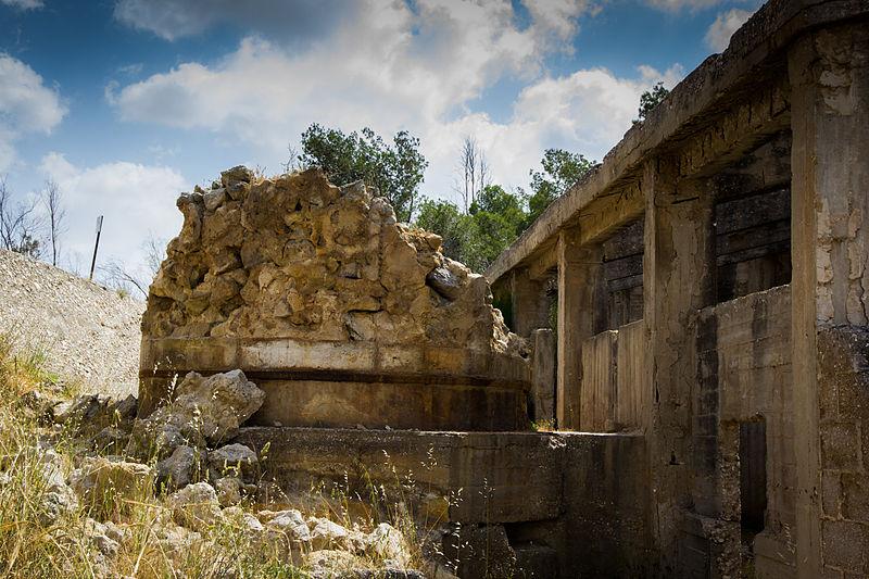 המבנה והכבשן