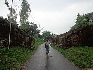 Mahasthangarh - entrance of mahasthangarh