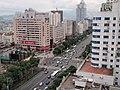 天和大厦15楼鸟瞰车站大道-2008.11.8 - panoramio.jpg
