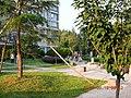 安徽省淮南市上东锦城内的绿地 - panoramio.jpg