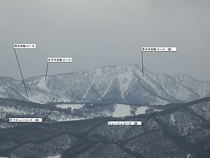 Sapporo Teine - Image: 手稲山競技場