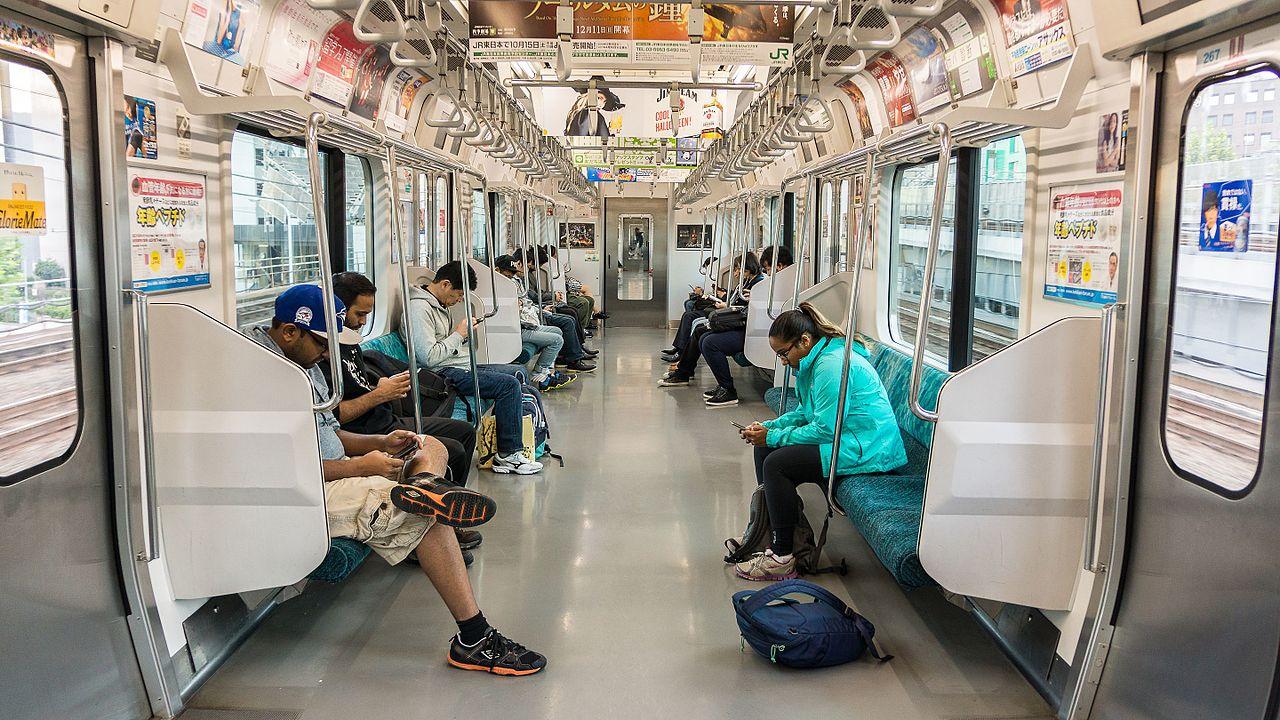 Kết quả hình ảnh cho avoid loud phone conversations while on public transit