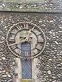 -2019-01-25 Clock face, Saints Peter and Paul, Edgefield, Norfolk.JPG