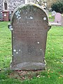 -2019-11-17 Headstone of Ash Allard, died April 20 1936, Trimingham churchyard.JPG