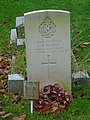 -2019-11-25 CWGC gravestone of Second Lieutenant R. H. Beeton, Royal Flying Corps, All Saints, Weybourne.JPG