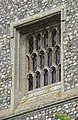 -2020-06-08 Sound hole set in west elevation of the bell tower of Saint James, Southrepps.jpg