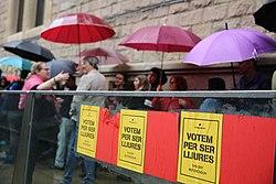 Fangslad aktivist foreslas bli katalansk regeringschef