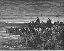 044. The Israelites Cross the Jordan River.jpg