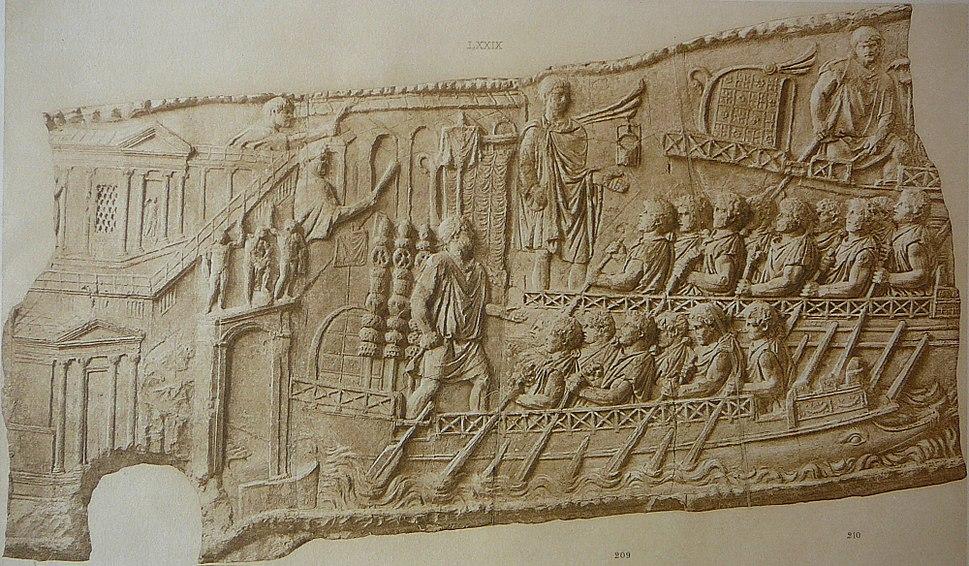 058 Conrad Cichorius, Die Reliefs der Traianssäule, Tafel LVIII