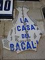 087 La Casa del Bacalao, c. Comtal 8 (Barcelona), rètol.jpg