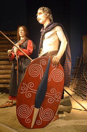 Przeworsk culture - Image: 0910 Tracht der Kelten in Südpolen im 3. Jh. v. Chr