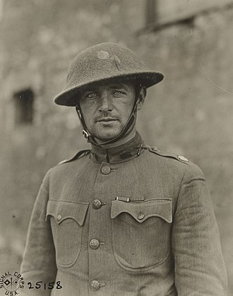 William J. Donovan - Donovan as a Lt. Colonel with the 165th Regiment in France in September 1918.